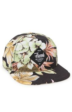 913bc7e73fb Neff Filthy Floral Deconstructed Snapback Hat - Mens Backpack - Black - One
