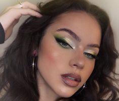Dope Makeup, Edgy Makeup, Makeup Eye Looks, Creative Makeup Looks, Eye Makeup Art, Pretty Makeup, Skin Makeup, Beauty Makeup, Fairy Makeup