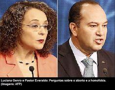 Luciana Genro afirma que ganhar do pastor Everaldo já será uma grande vitória nessa eleição