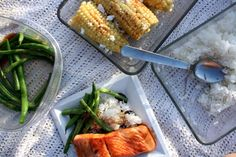Salmon Teriyaki, Wok-Fried Green Beans, & Summer Corn Recipes | Recipes for Adventure