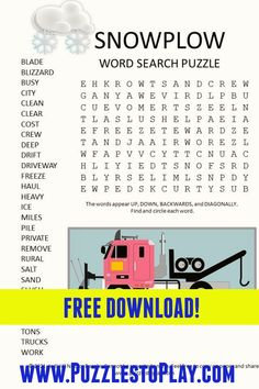 Printable Puzzles, Free Printable Worksheets, Free Printable Coloring Pages, Free Printables, Free Word Search Puzzles, Kids Word Search, Puzzle Games, Puzzle Books, Classroom Games