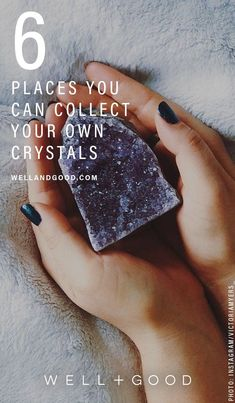 Where to Collect Crystals amethyst sacred space focused intention