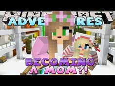 Minecraft Adventures : LITTLE KELLY BECOMES A MOM? - YouTube