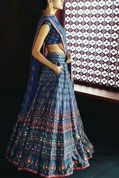 Anita Dongre More pocket idea Indian Wedding Outfits, Pakistani Outfits, Indian Outfits, Indian Weddings, Anita Dongre, Choli Designs, Indian Lehenga, Indian Skirt, Indian Dresses