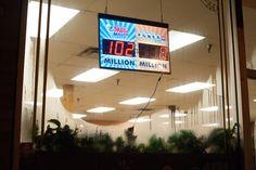 Untitled (Mega Million), Michael Robertson Michael Robertson, American Space, New Paltz, Neon Signs
