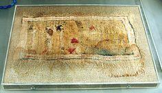 Painted Cloth Dedicated to Hathor (Deir el-Bahari, 18th Dynasty)  MET 07.230.23