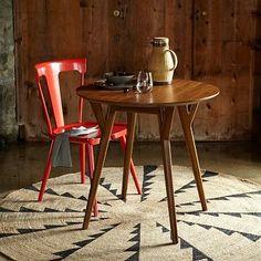 Mid-Century Bistro Table #green