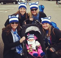 Blue and White CAT Beanie  U of Ky  Wildcats  Adult by lisaswick, $20.00