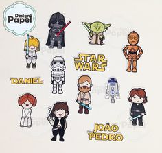 Aplique Star Wars