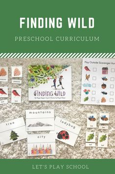 Let's Play School Preschool Curriculum - Preschool At Home, Preschool Curriculum, Homeschool, Nature Activities, Science Activities, Pre K Age, Bee City, Wild Book, Child Love