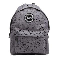 £30.00 Hype Speckle Backpack   Grey   REEM