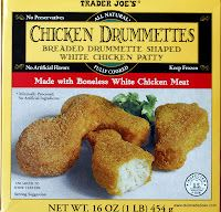 One thing that Trader Joe's is really good at is catering to kids. I have two of my own growing boys that are 8 and 9 years old months apart! Trader Joe's, Frozen Chicken Nuggets, Hamster Eating, Chicken Patties, Recipe From Scratch, Meat Chickens, Toddler Meals, Toddler Food, Healthy Baking