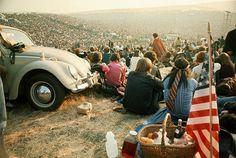 #woodstock #rock'n'roll #60's #music #rock #love #peace #VW bug ♥