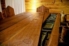 #Game room that's perfect for #Dungeons & Dragons and a #medieval hearty…