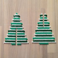 sandylandya@outlook.es 3D Christmas tree hama perler pattern by sarabygvraa