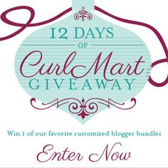 I just entered CurlMart December Giveaway to win some amazing curly hair prizes on NaturallyCurly.com! You should enter too. It's easy, click here: http://www.naturallycurly.com/giveaways/CurlMart-December-Giveaway/st/54957fcf5cdec4.69211493