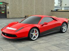 Eric Clapton's Ferrari SP12 -   Oh! Like an evolution of the BB512!