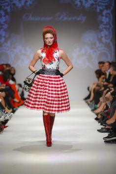 Austrian Trachten couture by Susanne Bisovsky