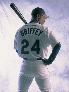 Ken Griffey Jr. The greatest center fielder to put on a glove