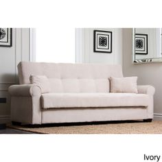 Abbyson Living Monte Carlo Fabric Sleeper Sofa Bed | Overstock.com Shopping - Great Deals on Abbyson Living Futons