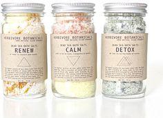 Dead Sea Bath Salt Set. 3 Types. Essential Oils. 100% Natura... - Polyvore
