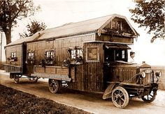 The Flying Tortoise: Some Of The World's Oldest Motorhomes...