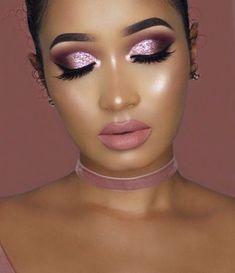 Most Trendy Pink Glitter Eye Makeup Design You May Love - Page 56 of 64 - Di. - Most Trendy Pink Glitter Eye Makeup Design You May Love – Page 56 of 64 – Diaror Diary - Pink Eye Makeup, Glitter Eye Makeup, Glam Makeup, Eyeshadow Makeup, Beauty Makeup, Sexy Makeup, Glitter Eyeshadow, Makeup Cosmetics, Gorgeous Makeup