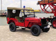 1944 Willys Jeep Brandweer ★。☆。JpM ENTERTAINMENT ☆。★。