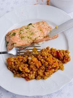 Pradobroty: Červená čočka jako příloha Lunch Recipes, Vegetarian Recipes, Dinner Recipes, Cooking Recipes, Healthy Recipes, A Food, Food And Drink, Clean Eating, Healthy Eating