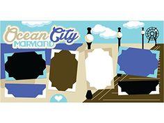 """""""Ocean City"""" Scrapbook Kit"""