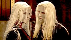 Nuala and Nuada Hellboy The Golden Army, Lady Sif, Character Creation, Faeries, Beautiful Creatures, Character Inspiration, Mythology, Dragon, Fantasy