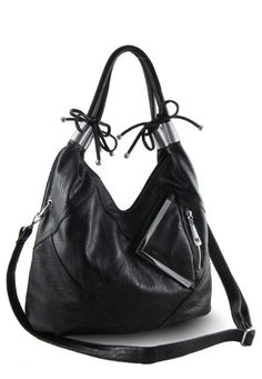 Bananas for Handbags is going to offer the Bekah Black Hobo to one person.  This contest is open to the US only and will end on April 11, 2012.  If Only Life Could Be That Simple