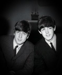 Lennon/McCartney--the BIGGEST songwriting duo of my childhood (I was born a month after their first Ed Sullivan appearance).