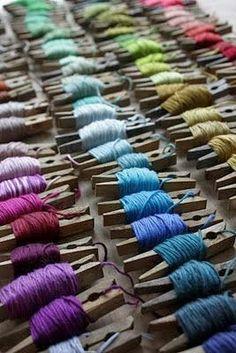 11 Yarn Organising Ideas