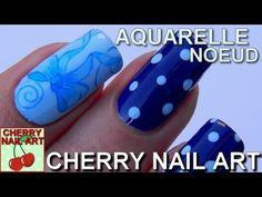AQUARELLE nail art noeud pois au vernis Cherry Nail Art, Nail Gel, Paint, Clothes, Polish, Watercolor Painting, Ongles, Gel Nail, Outfits