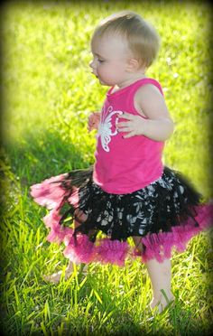 Sewing Patterns for Girls Dresses and Skirts: Madeline Pettiskirt Sewing Pattern, 6 months to 10 years