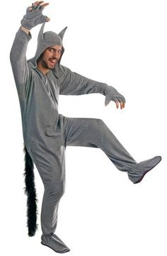 """""""Grey Wolf Pajama"""" aka """"Totally not Max from Where the Wild Things Are"""" 