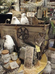 Round Barn Potting Company: I heard the snow is coming