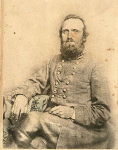 "Stonewall Jackson, ""Winchester photograph"", 3/4 pose, 1862 :: VMI Archives Photographs Collection"