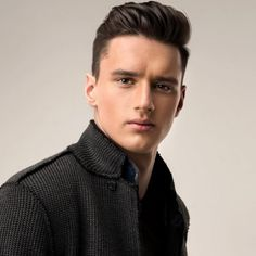Quiff Hairstyles for Men the Best Quiff Haircut Ideas for Different Hair Types Mens Hairstyles Pompadour, Top Hairstyles For Men, Cool Mens Haircuts, Undercut Hairstyles, Layered Haircuts, Boy Hairstyles, Long Slicked Back Hair, Classic Mens Haircut, Gentleman Haircut