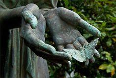 What beautiful symbolism ...Ohlsdorfer Friedhof Hamburg, Germany