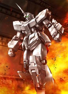 Gundam Unicorn first battle
