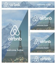 A series of web banner ads for AirBnB to drive home their message that home can be anywhere. *this was created as a class assignment as is not associated with AirBnB* Banner Design Inspiration, Web Banner Design, Web Design, Display Banners, Display Ads, Event Banner, Ads Banner, Google Banner, Digital Banner