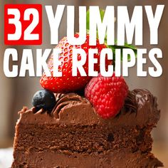 This is a great list of unique, moist & sweet tooth satisfying cake recipes.