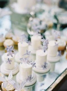 A Fantasy Garden Theme, a Perfume Bar, Purple Fleurs - This Is Whimsy Wedding Heaven.