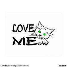 Love MEow Postcard