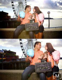 Alma + Diego   Seattle Engagement   Ferris Wheel   Seattle, WA » Seattle Portrait and Wedding Photographer