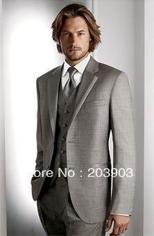 2013 tamanho personalizado manhã de moda cinza manhã de moda noivo smoking melhor homem terno do casamento