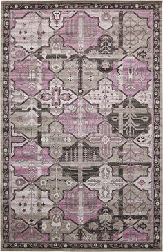 Purple 10' 6 x 16' 5 Vista Rug | Area Rugs | eSaleRugs