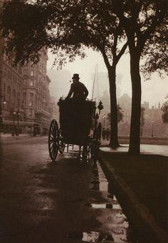 Central Park, 1900
